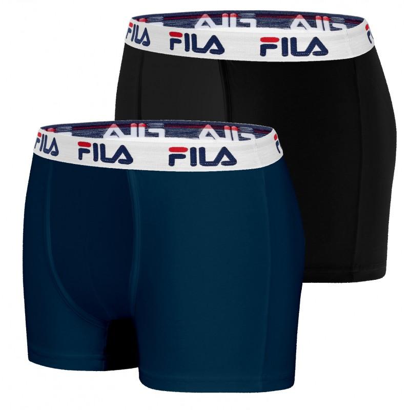 Boxer homme Fila coton (Lot de 2)
